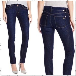 DL1961 | Angel Mid Rise Skinny Jeans in Mariner